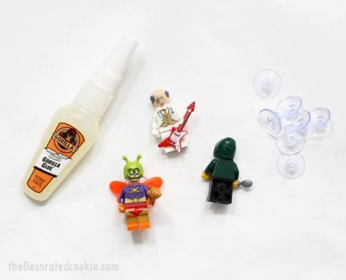 DIY Lego Wine Charms