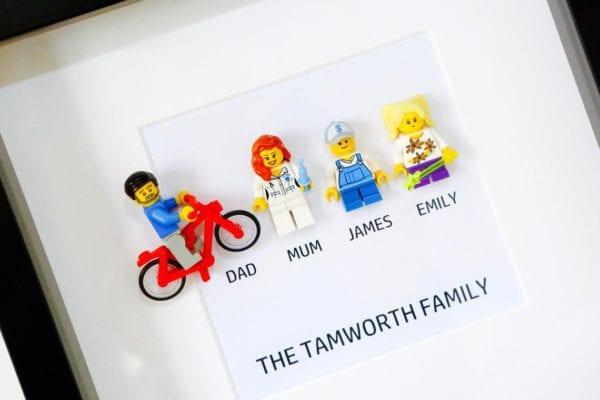 Lego Minifigure Portrait