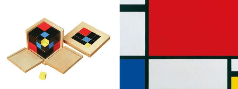 Montessori Sensorial & Art Activity