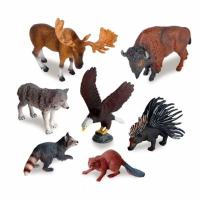 Animal Figurines for Learning