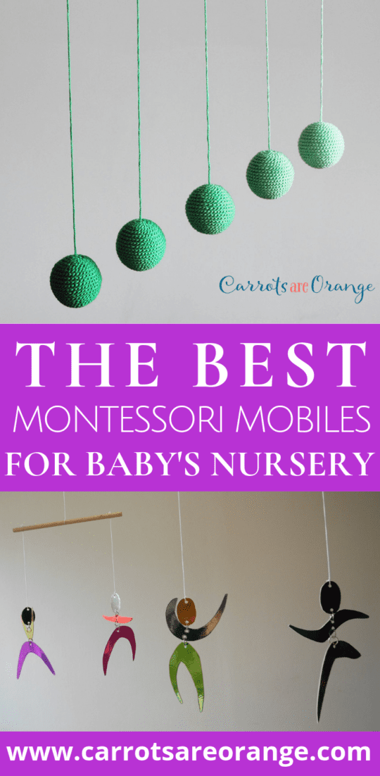My All Time Favorite Montessori Mobiles for Your Baby's Room
