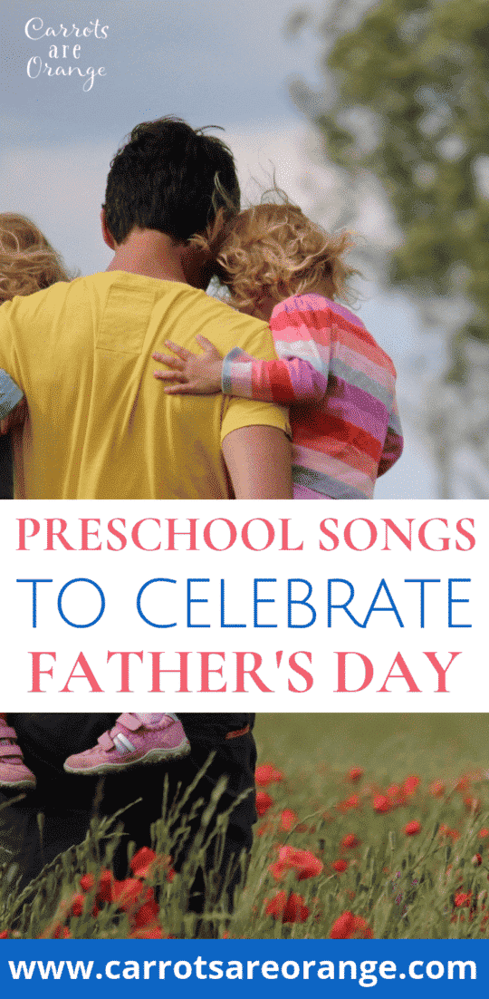 Preschool Songs for Fathers Day