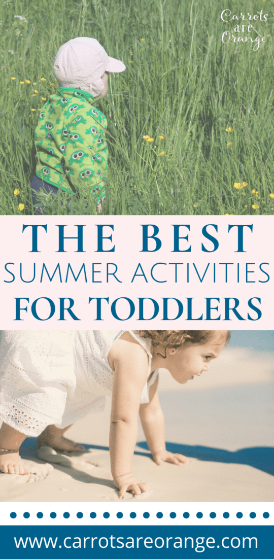 The Best Hands On Summer Activities for Toddlers
