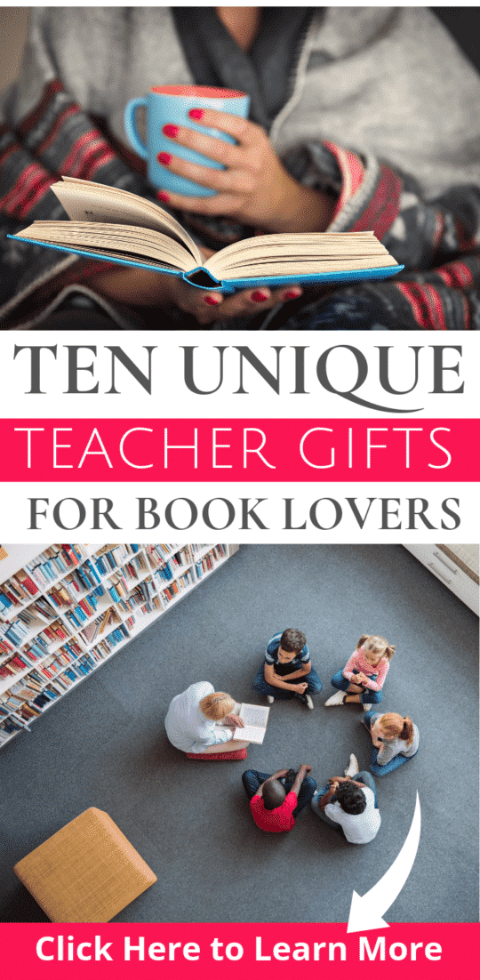 10 Unique Teacher Gifts for the Book Lover