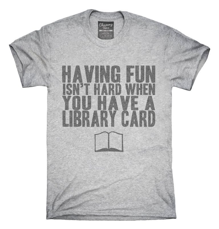 Funny Gift for Teacher Who is a Book Lover