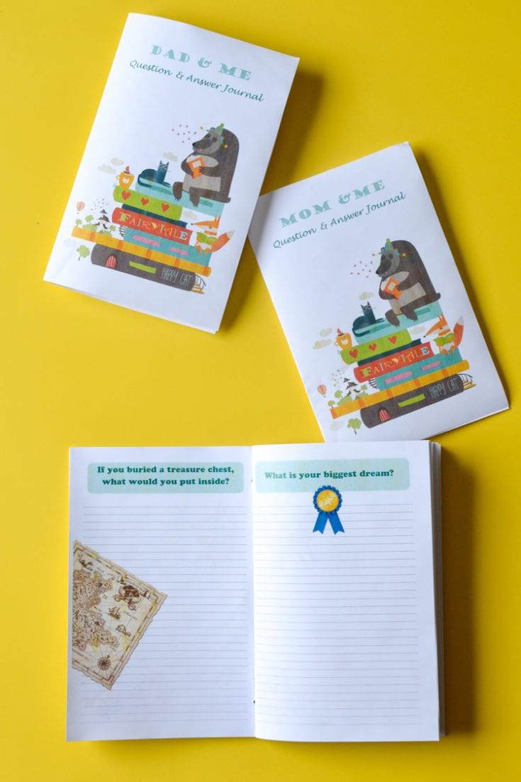 about me free printable journal of questions for kids
