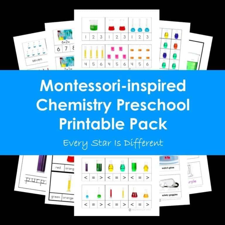Chemistry Printable Pack
