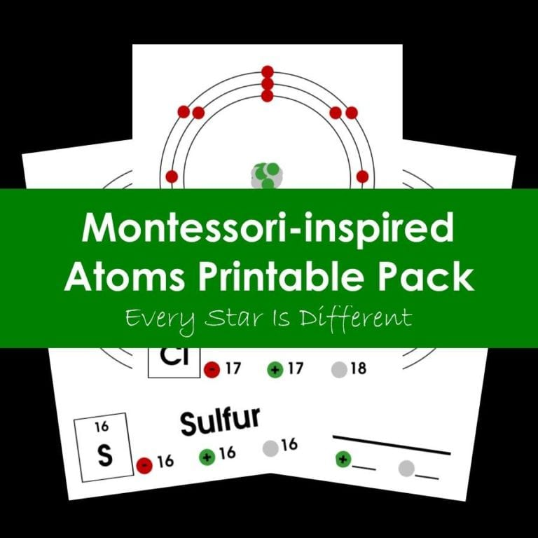 Atoms Printables Pack