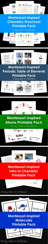 Montessori Chemistry Printables for Kids