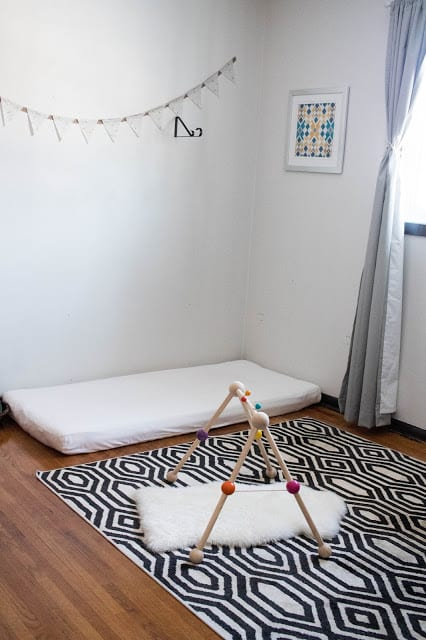example of floor bed
