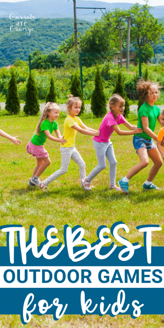 Check out these amazing outdoor games for kids!