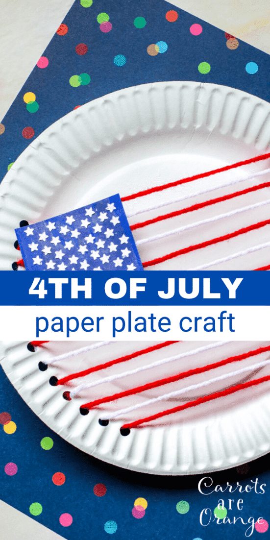 th of July Paper Plate Craft