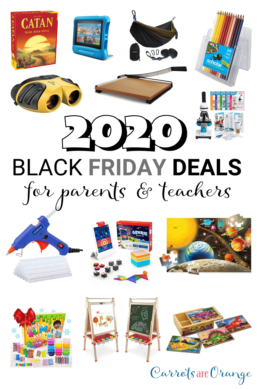 BLACK FRIDAY DEALS FOR PARENTS & TEACHERS