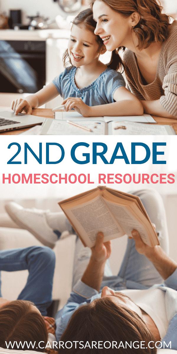 Second Grade Homeschool Curriculum & Resources